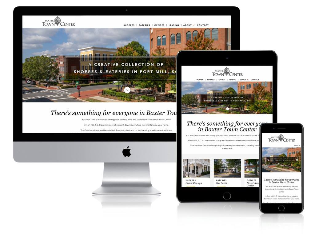 Baxter Town Center website